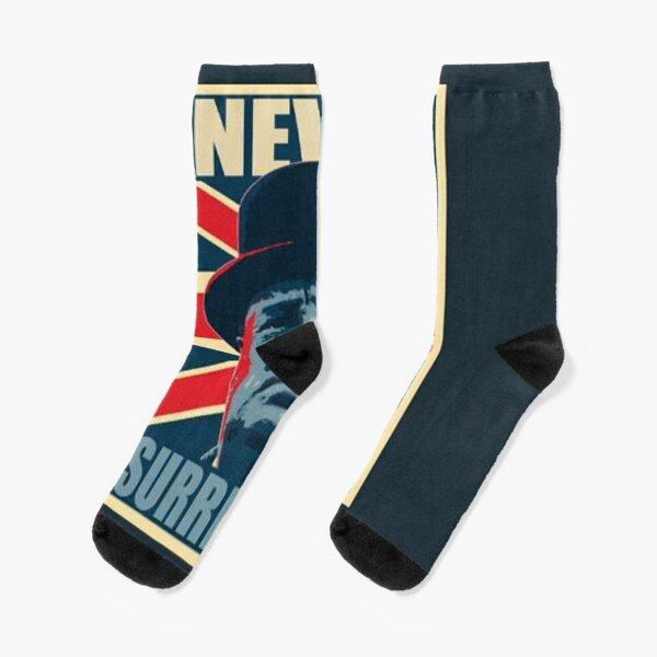 Never Surrender Socks