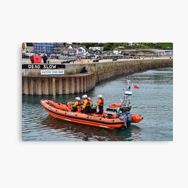 Spirit Of Loch Fyne Lyme's  Lifeboat Canvas Print