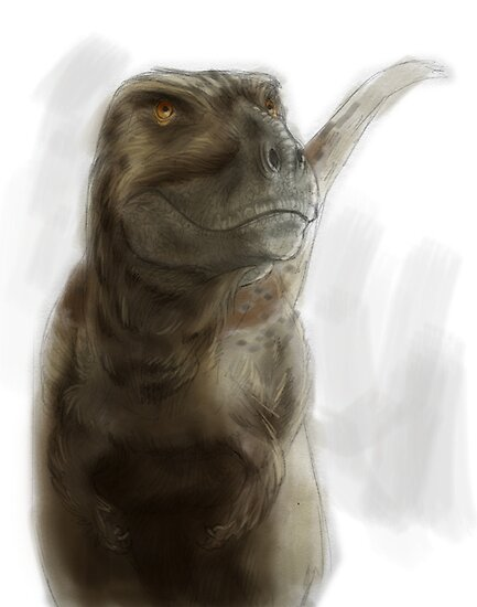 Tyrannosaurus rex by A V S TURNER
