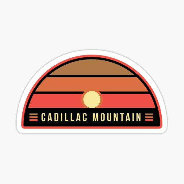 Cadillac Mountain, Acadia Stickers Sticker