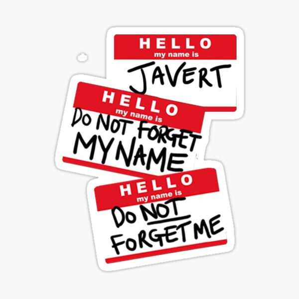 Do not forget me! Sticker