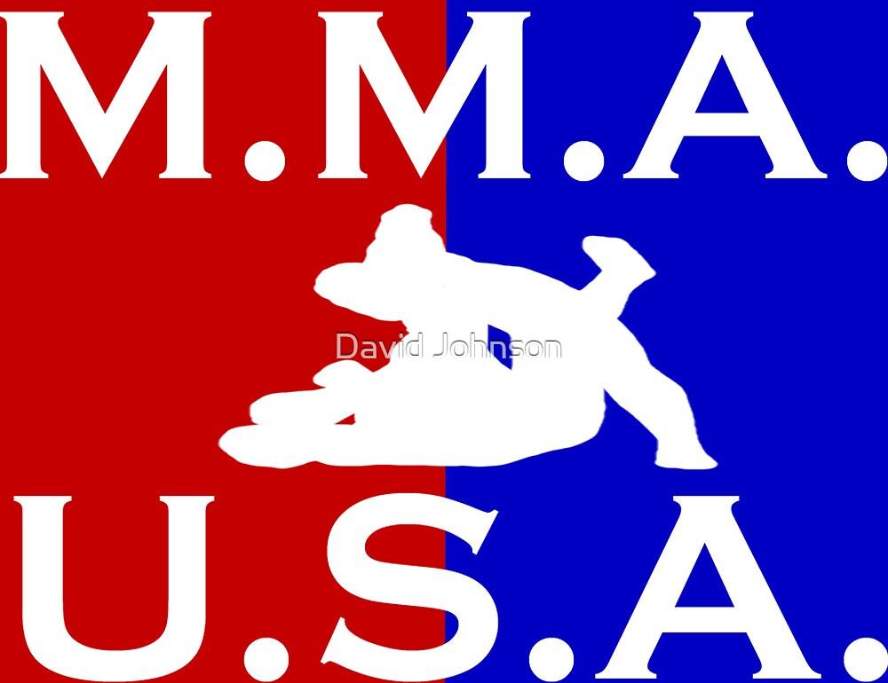 U.S.A. M.M.A. logo 2 by Euvari