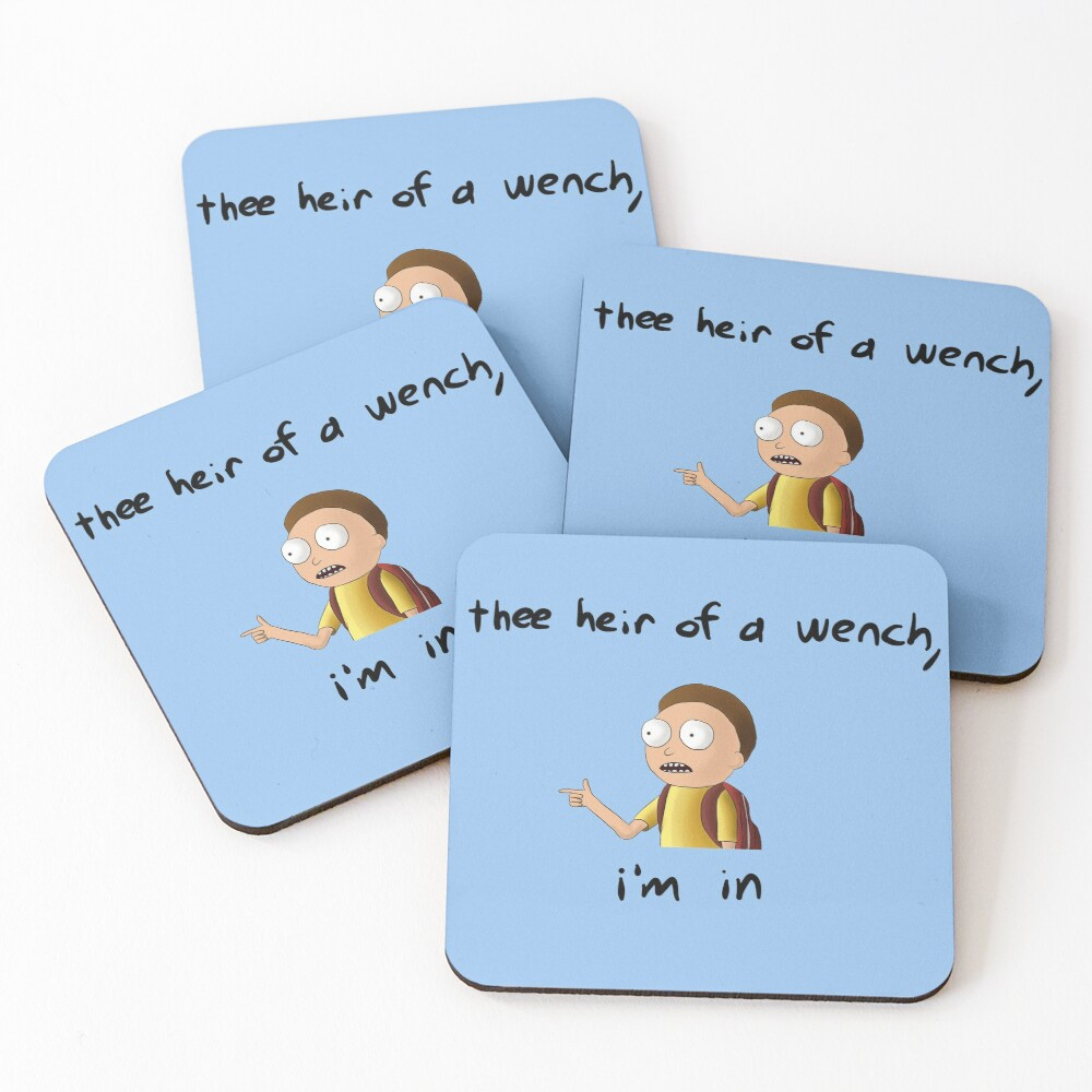 Rick and Morty TM - I'm In Coasters (Set of 4)