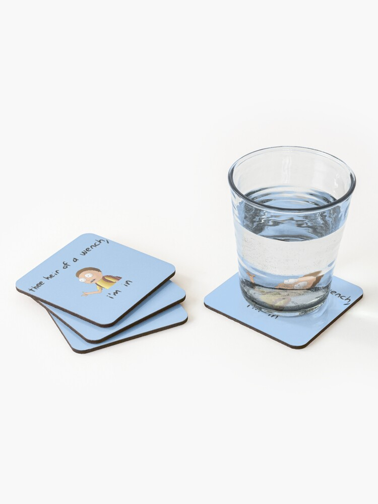 Alternate view of Rick and Morty TM - I'm In Coasters (Set of 4)