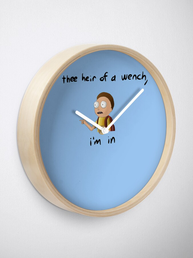 Alternate view of Rick and Morty TM - I'm In Clock