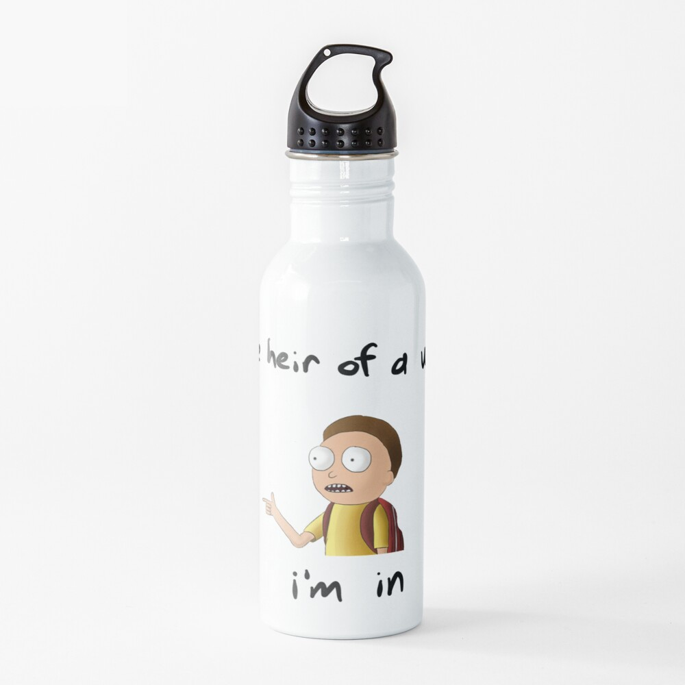 Rick and Morty TM - I'm In Water Bottle
