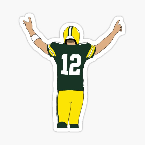 Green Bay Packers Aaron Rodgers Sticker
