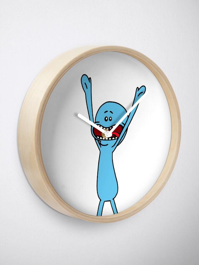 Alternate view of I'm Mr Meeseeks, look at me Clock