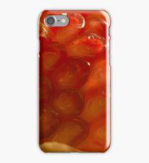 Macro Pomegranate iPhone Case/Skin