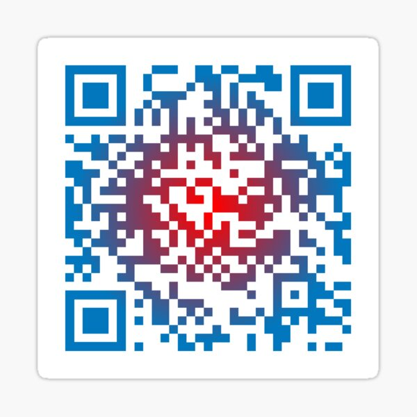 Bills Shout Song - QR Code Sticker