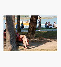 Legs in Burano Photographic Print