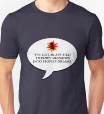 """""""I've got an app that throws grenades into people's dreams."""" - Malcolm Tucker T-Shirt"""