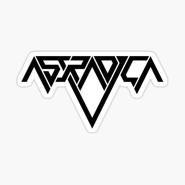 Astradica logo Sticker