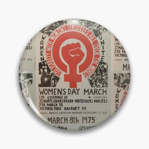 Women's March 1975 Pin