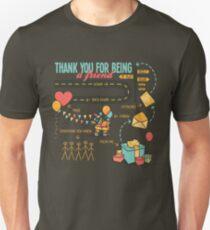 Pals et Confidants T-shirt ajusté
