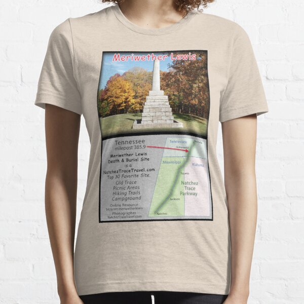 Meriwether Lewis Death & Burial Site (fall) on the Natchez Trace Parkway. Essential T-Shirt