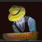Amish Old Man In Prayer by Noel78