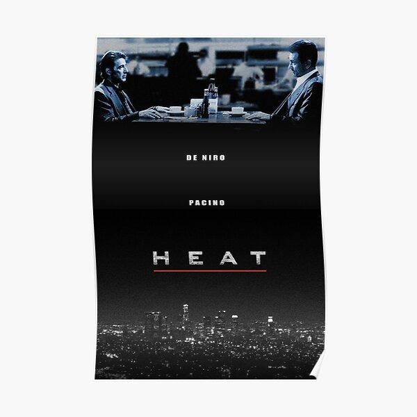 Heat directed by Michael Mann (Robert De Niro, Al Pacino) Poster