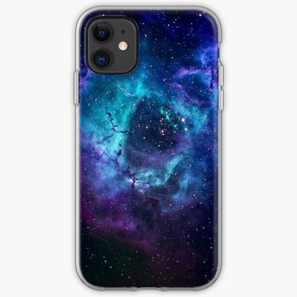 Blue Galaxy iPhone Soft Case