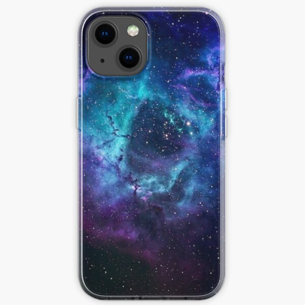 Blue Galaxy iPhone Soft Case
