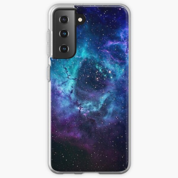 Blue Galaxy Samsung Galaxy Soft Case