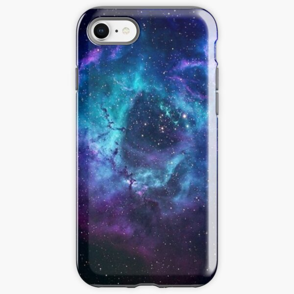 Blue Galaxy iPhone Tough Case