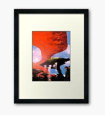 Mushroom World Framed Print