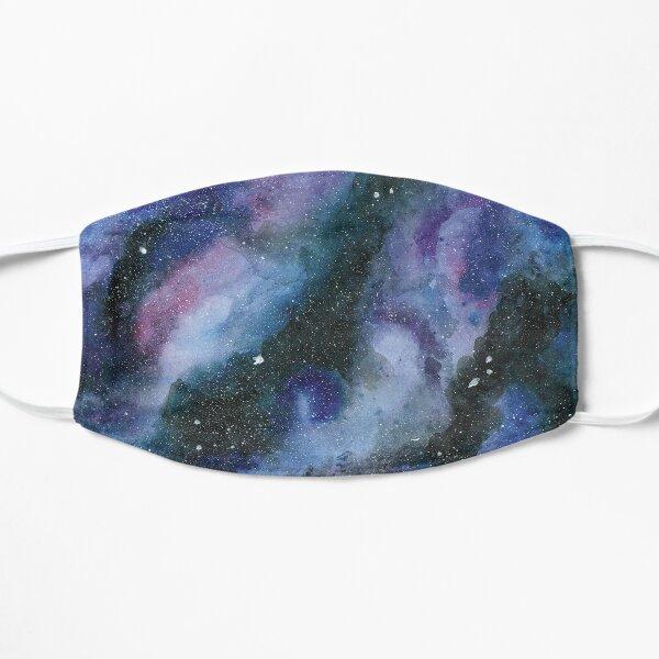galaxy watercolor Flat Mask