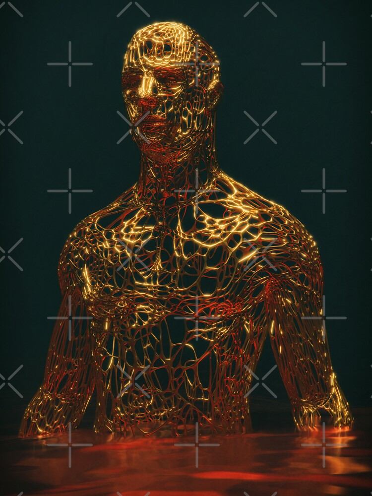 GOLD MAN by gigigvalia