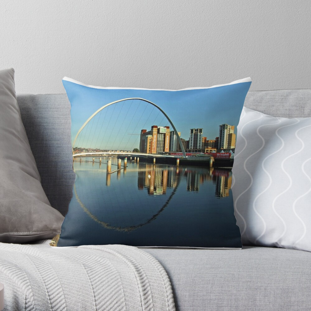 Double Tyne Throw Pillow