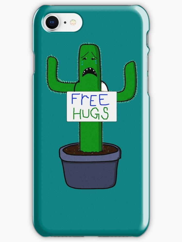 Free hugs Cactus by ahni mazybolton