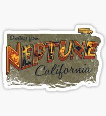 Greetings from Neptune Sticker