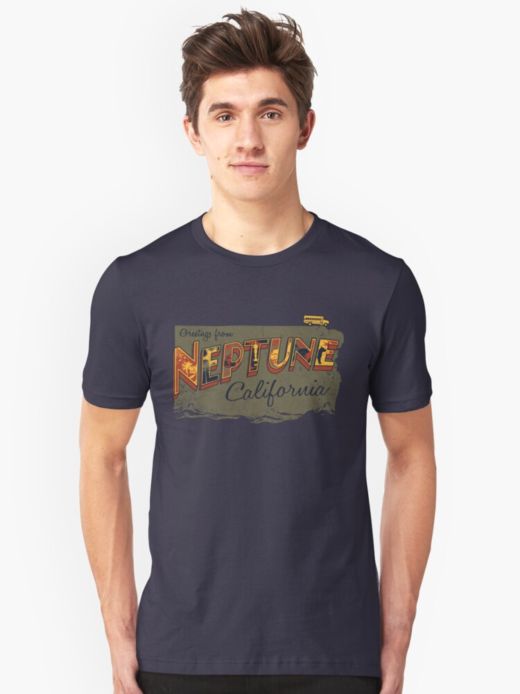 Greetings from Neptune Unisex T-Shirt Front