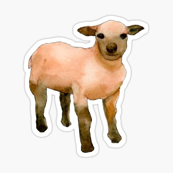 Sweet Little Lamb Sticker
