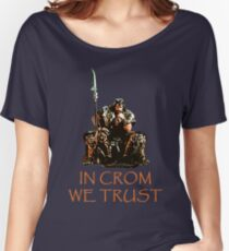 In Crom We Trust Women's Relaxed Fit T-Shirt