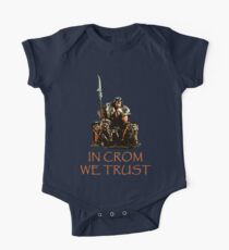In Crom We Trust One Piece - Short Sleeve