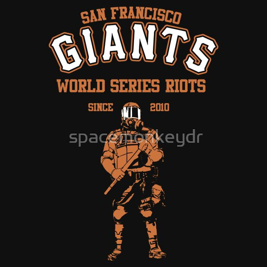 TShirtGifter presents: Giants Riots- SF Giants | Unisex T-Shirt