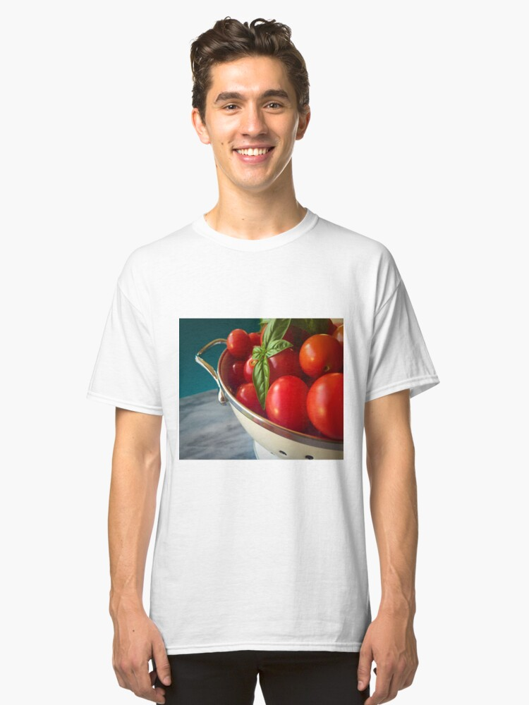 Cherry Tomatoes Classic T-Shirt Front