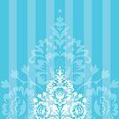 elegant serene pattern 1 by Kat Massard