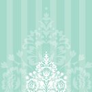 elegant serene pattern 4 by Kat Massard