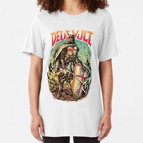 DEUS VULT Knight Slim Fit T-Shirt