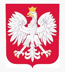 Coat of Arms of Poland Photographic Print