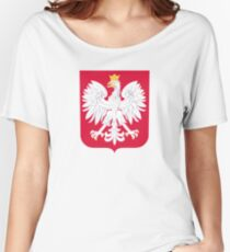 Coat of Arms of Poland Women's Relaxed Fit T-Shirt