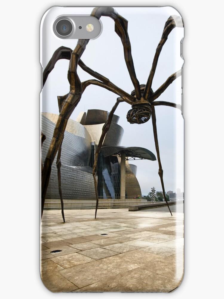 A Spider in Bilbao by Unai Ileaña