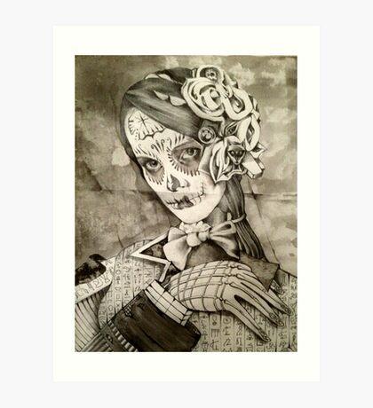 A Portrait Of Ms Gray Art Print