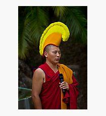 Tibetan Monk Photographic Print