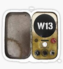 Warehouse 13 - Farnsworth Sticker