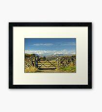 A Langdale View Framed Print