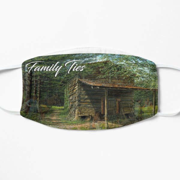 Family Ties Mug Flat Mask