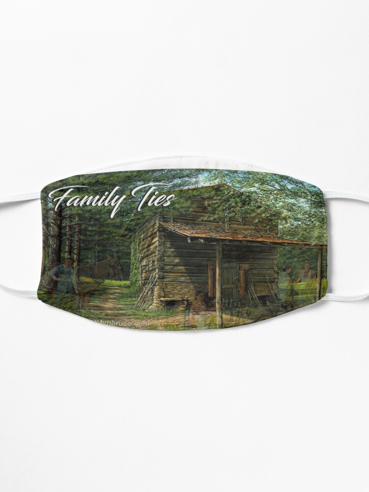 Alternate view of Family Ties Mug Mask